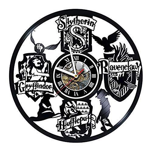 Aiyoubu Film Design Reloj Regalos hechos a mano para cualquier ocasión Aniversario de bodas de cumpleaños único Regalos de San Valentín Ideas para decorar paredes