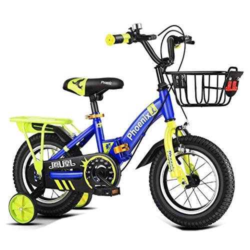 Best Prices! QiYue Boys Bike Training Wheels Included (Size : 14)