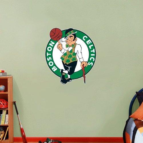skyhighprint - Boston Celtics NBA Basketball Wall Decor Sport Print Vinyl Sticker 25'' X 22''
