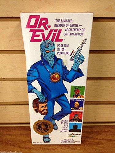 Captain Action Dr. Evil Sinister Invader of Earth Figure