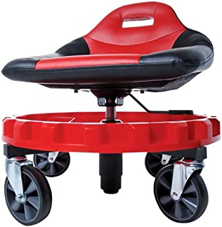 "Traxion 2-700 ProGear Mobile Rolling Gear Seat W/Equipment Tray and All-Terrain 5"" Casters"