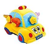 small foot 5517 Steck-Mobil, Baby Beschäftigungs weichem Plüsch mit vielen Steckelementen Spielzeug