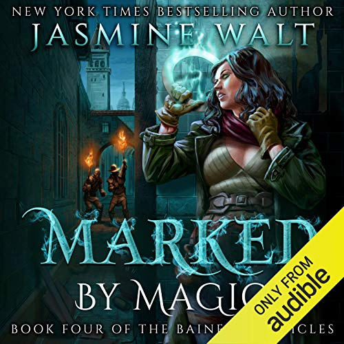Marked by Magic audiobook cover art