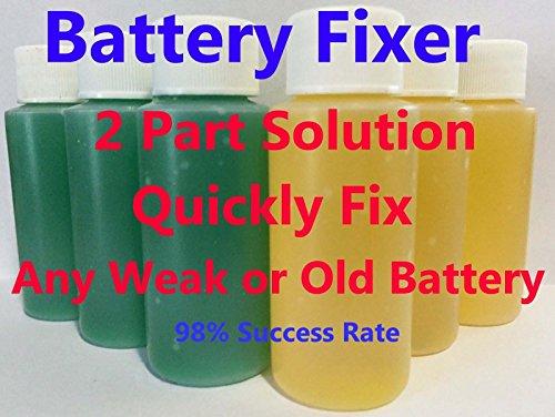 Forklift Battery Repair Liquid Solution- 36 Volt (36 Bottles)