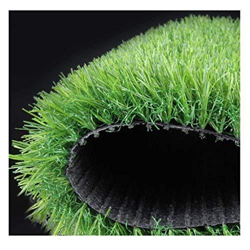 Mysida Artificial Grass WJ Kunstrasenteppich Outdoor Echte Rasendekoration Grünpflanze Kunststoff Grünes Gras Kunstrasen Balkon Matte (Size : 2 * 5m)