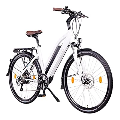 "NCM Milano Plus Urban E-Trekking E-Bike 48V 16Ah 768Wh Weiß 28"""