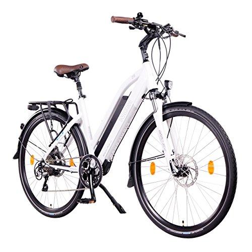 NCM Milano Plus Bicicletta elettrica da Trekking, 250W, Batería 48V 16Ah 768Wh 28