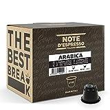 Note d'Espresso - Lot de 100 capsules de café - Exclusivement compatible avec machine Nespresso* - Arabica - 100 x 5,6 g