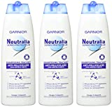 Garnier - Neutralia Dermo-Protecteur - Shampooing Traitant Anti-Pelliculaire - Lot de 3