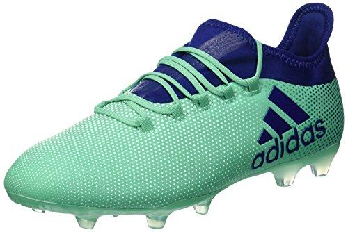 Adidas X 17.2 FG Voetbalschoenen voor heren, blauw (Aerver/Tinuni/Vealre 000), 40 EU