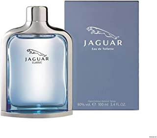 Jaguar Classic Blue by Jaguar for men Eau De Toilette Spray,3.4 Ounce