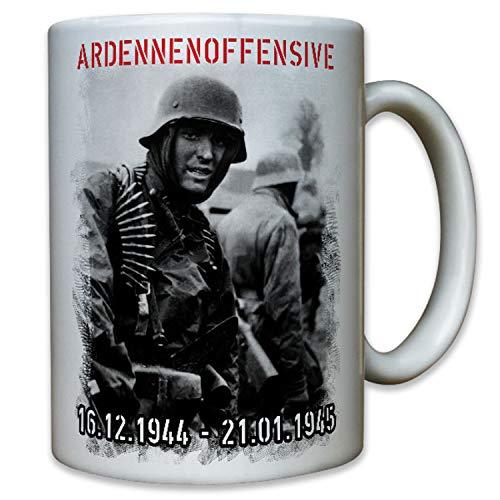 Deutscher Soldat Ardennenoffensive 1944 Wh Unternehmen Wacht Rhein - Tasse #9883