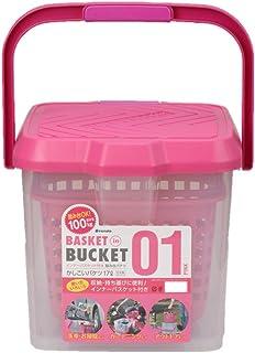 イノマタ化学 かしこいバケツ17L ピンク