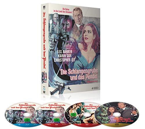 Die Schlangengrube und das Pendel - Limited Deluxe Mediabook-Edition (+ 2 DVDs, CD-Soundtrack/36-seitiges Booklet/in HD neu abgetastet/durchnummeriert) [Blu-ray]