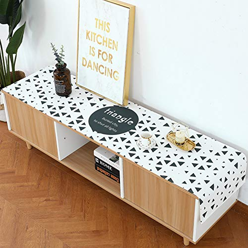 YOUYUANFNordic Modern Minimalist Cloth Tablecloth TV Cabinet Cover Cloth Impermeable a Prueba de Aceite Hot Table Cloth Table Flag 35 * 160cm