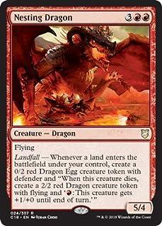 Magic: The Gathering - Nesting Dragon - Commander 2018