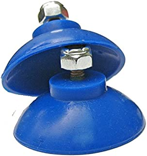 ArcMate Replacement Cups, EZ Reacher Accessory Tips, Heat Resistant Silicon Cups with Locknuts, For Indoor Home Use, Blue, 1-Pair (7368)