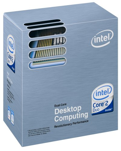 Intel Core 2 Duo E8400 Prozessor (3GHz 6MB Cache) in Einzelandelsverpackung