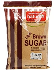Natures Choice Light Brown Sugar Raw, 1 kg
