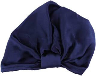 MEGICOT Silk Sleep Cap for Women & Girls, 100% Mulberry Silk Night Sleeping Cap for Girls' Long Hair Natural Hair Curly Ha...