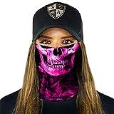 SA Fishing Face Shields (FBA), Stealth Tech | Pink Crow