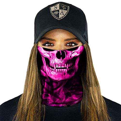SA Fishing Face Shields (FBA), Stealth Tech | Pink Crow