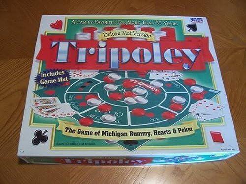 descuento de bajo precio Tripoley Deluxe Mat Version 1999 Edition Board Board Board Game by Cadaco  con 60% de descuento