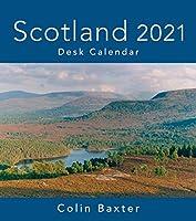 Colin Baxter 2021 Scotland Desk Calendar