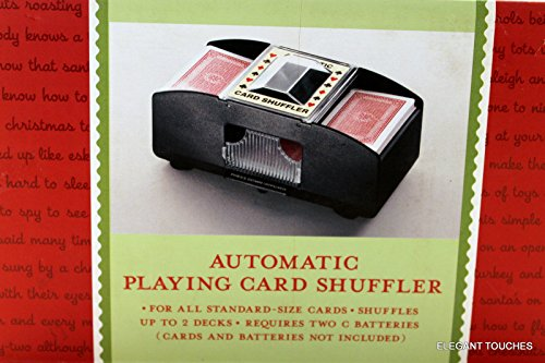 CHH 2 Deck Card Shuffler (#2609),Black
