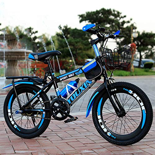 JYD Children's Bicycle 6-15 Years Old Bicycle boy 20 inch Mountain Speed Youth Bicycle disc Brake, Front Fork