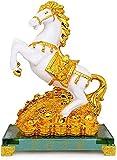 LHMYHHH Correr Estatua Estatua Gratis Conjunto de 10 Monedas Antiguas afortunadas en Cadena roja Encanto Chino de Prosperidad decoración del hogar Regalo Feng Shui decoración