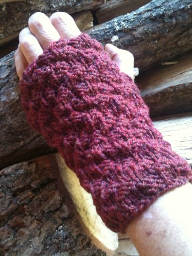 7 Wrist Warmers Knitting Patterns : How To Knit Wrist Warmers (Easy One Day Project) by [May Redwood]