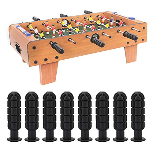 YunhanyDirect 8Pcs Table Soccer Handle Grip Table Foosball Part...