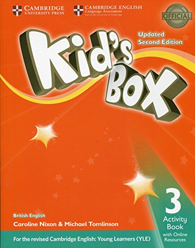 Kids Box 3 - Activity Book With Online Resources Updated -02 Edition
