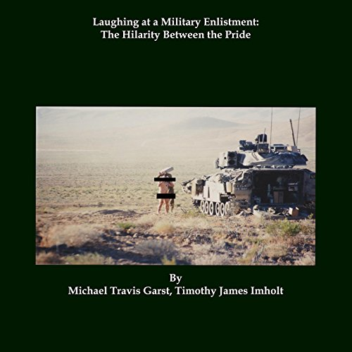 Laughing at a Military Enlistment audiobook cover art