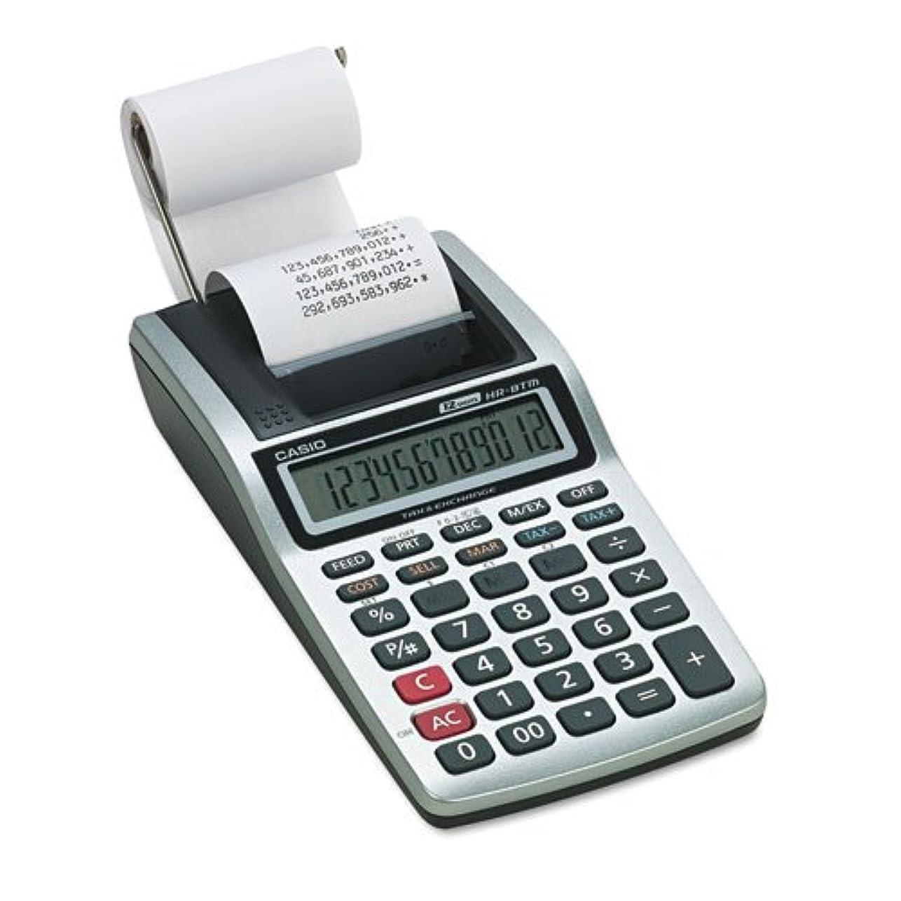 うめき波紋インフレーションcsohr8tm?–?hr-8tmハンドヘルドポータブル印刷電卓