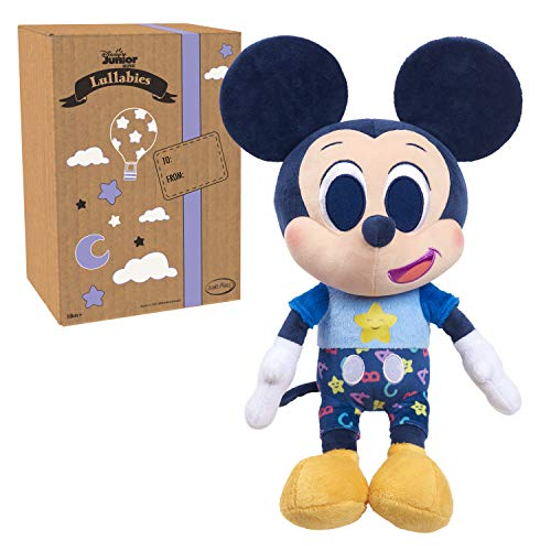 Disney Junior Music Lullabies Bedtime Plush, Mickey Mouse, Amazon Exclusive, by Just Play