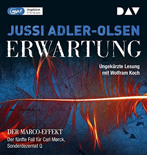 Erwartung: Ungekürzte Lesung mit Wolfram Koch (2 mp3-CDs) (Carl-Mørck-Reihe)