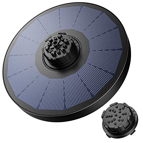 OKMEE Solar Fountain Upgraded 4-in-…