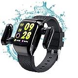 Smart Watch With Bluebooth Earbuds,1.3' Hd Touchscreen,wireless Earphones Fitness Tracker Watch 2 In 1,activity Bracelet With Tws Sleep Music Wristband Headset Heart Rate Blood Pressure,waterproof