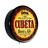 Goldenoldiesclocks CUBETA Beer and Ale Cerveza Lighted Wall Sign