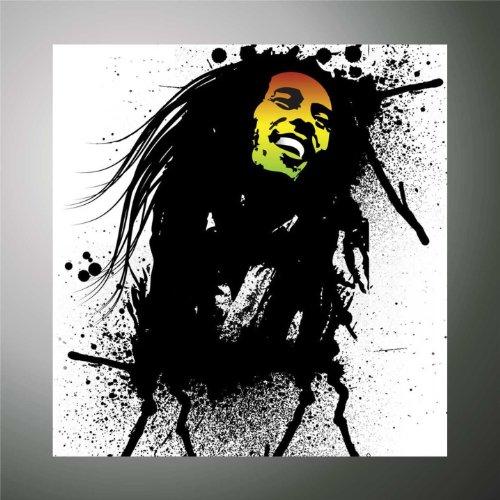 Pegatinas – Pegatinas Bob Marley reggae hip hop rap jazz hard rock metal pop funk adhesivo