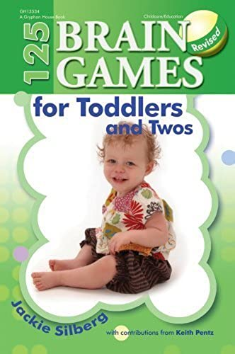 125 Brain Games for Toddlers and Twos by argentg, Jackie (2012) Paperback
