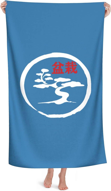 Retro Bonsai Tree List price in Enso Circle Beach Towels Bath Large discount Towel52