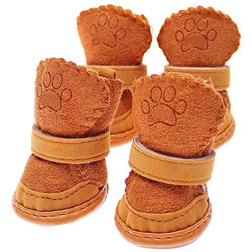 FliyeongNeue Nette Chihuahua-Hundeschuh-kleine Hundehaustier-Schuh-Welpen-Winter-warme Stiefel-Schuh-Qualität