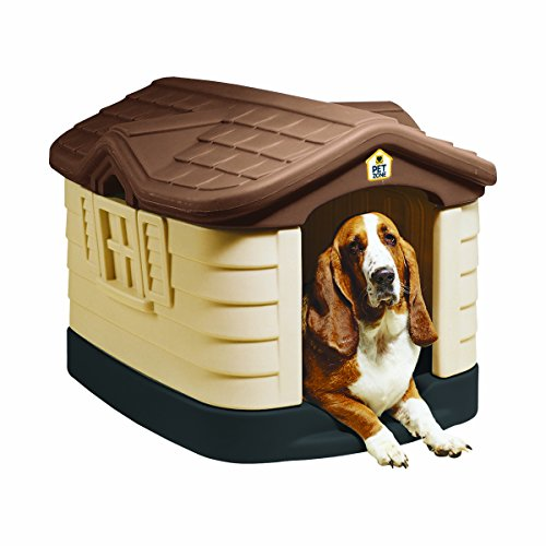 Pet Zone Cozy Cottage Weather-Resistant Dog House....
