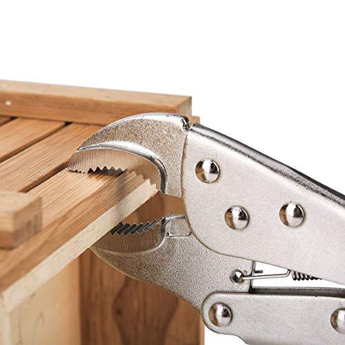 FASTPRO 4-piece Locking Pliers Set, 5