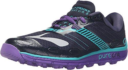 Brooks Brooks Damen PureGrit 5 Laufschuhe, Grau (violett), 36 EU