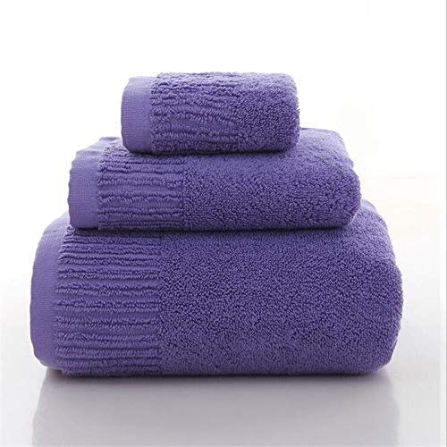 11 colores 3 piezas Toallas de baño Toalla de algodón grueso Conjunto de toallas de cara Toallas de baño para adultos Toallitas para adultos Toalla de baño Alta Absorbente Toalla cómoda Toalla absorbe