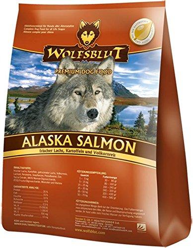 Wolfsblut Alaska Salmon 2 kg, Alimento Deshidratado para Perro, Sabor Salmón, Patatas y Arroz integral - 2 kg